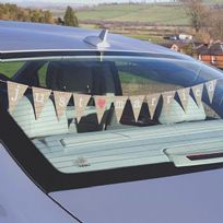 Just My Type Just Married Car Bunting
